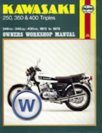 Picture of Haynes Manual 134 KAW 250/350/400 [3 CYLINDER]