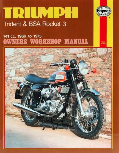 Picture of Haynes Manual 136 Triumph TRIDENT & BSA ROCKET 3