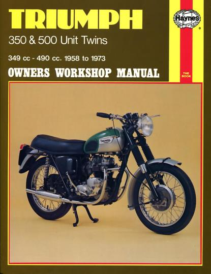 Picture of Haynes Manual 137 Triumph 350/500 UNIT TWINS-S/Order