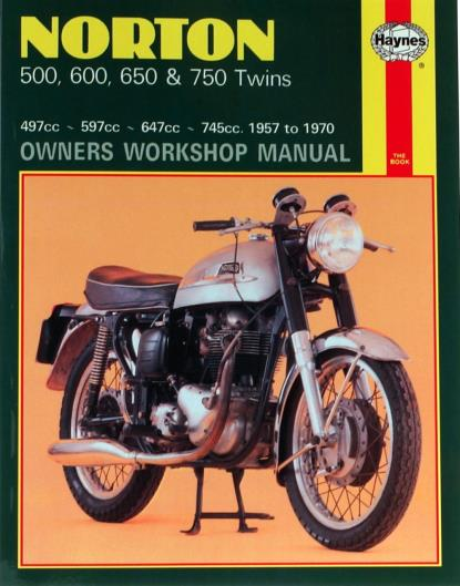 Picture of Haynes Manual 187 Norton 500/600/650/750 TWINS-S/Order