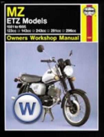 Picture of Haynes Manual 1680 MZ/ETZ