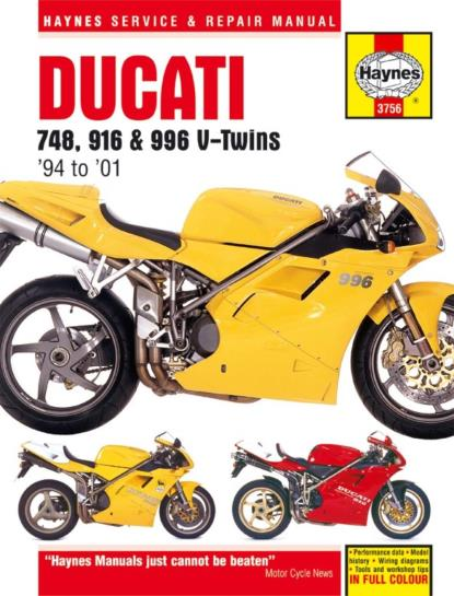 Picture of Haynes Manual  3756 Ducati 748/916/996 V-TWINS