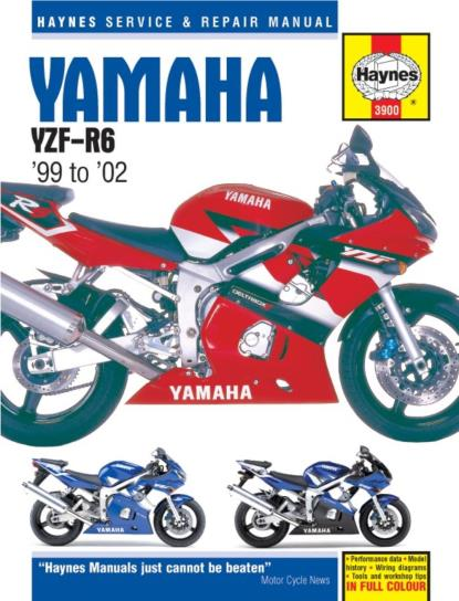 Picture of Haynes Manual  3900 YAM YZF-R6