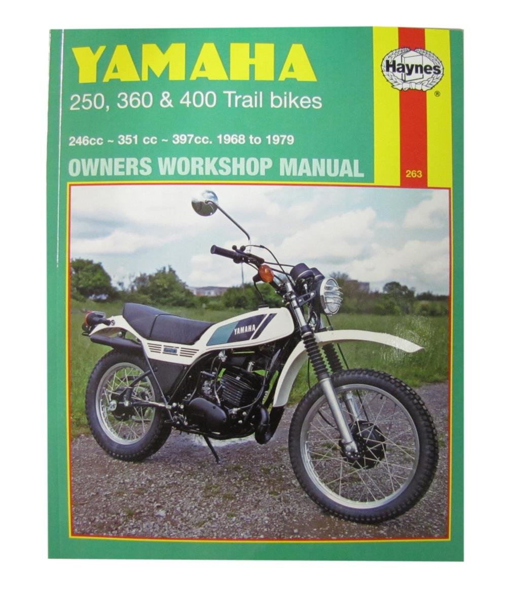 0000266_workshop manual yamaha dt250 75 79 rt360 70 73 dt360 dt400 74 77 manual haynes for 1978 yamaha dt 400 e (mx) (single shock) ebay  at soozxer.org