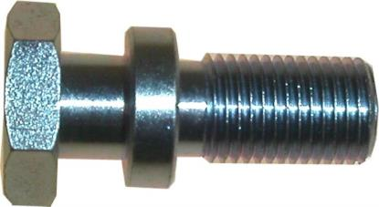 Picture of Paddock Stand Bobbins Stepped 12mm x 1.25mm, overall 39mm (Pair)
