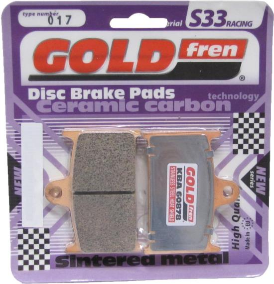 Picture of Goldfren 017-S33, VD343, FA145, FA236, FDB557, SBS624 Disc Pads (Pair)