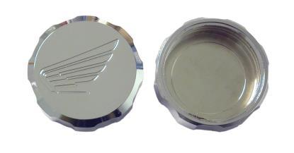 Picture of Master Cylinder Cap Chrome Aluminium screw-on Honda logo