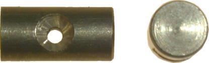Picture of Nipple Barrel 4.75mm x 9.65mm (Per 50)