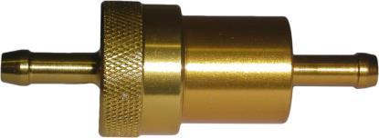 Picture of Fuel Filter 6mm Anodised Aluminium Gold