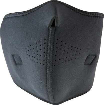 Picture of Face Mask with Carbon Filter and Hole easy breathing Black