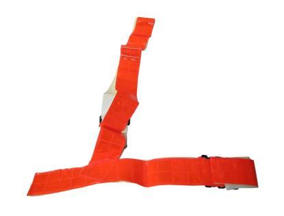 Picture of Sam Browne Belt Medium Red Fluorescent