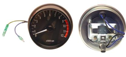 Picture of Clock Tacho Kawasaki Z's up to 12000rpm (Set)