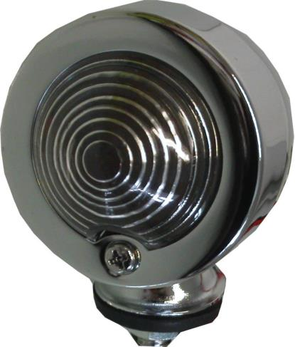 Picture of Bullet Light Chrome Orginal Type with Clear Lens