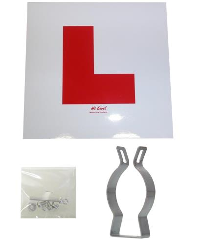 Picture of 'L' Plates Front & Rear (10 Kits)
