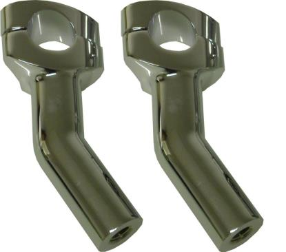 Picture of Handlebar Riser Chrome Pull Back Harley Davidson Style (Pair)