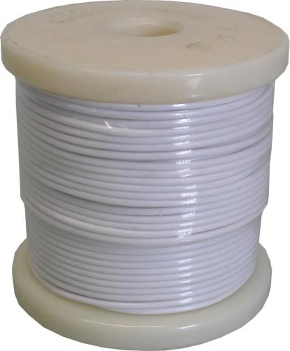Picture of Single Electrical Cable White O.D 2.50mm (50 Mtrs)