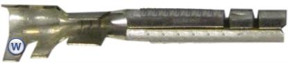 Picture of Connectors Solder Female Bullet O.D 2.50mm (Per 50)