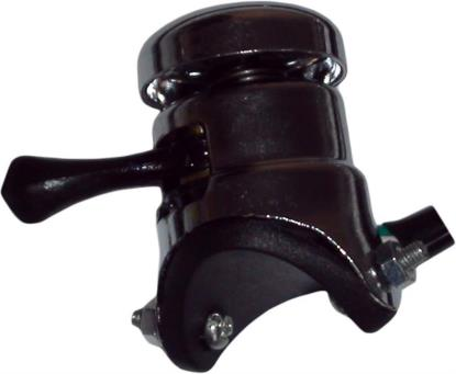 Picture of Chrome Switch Lucas Type 2 Way + Horn Small