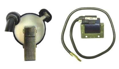 Picture of Ignition Coil 12v AC Single 1 Spade Terminal (32mm)