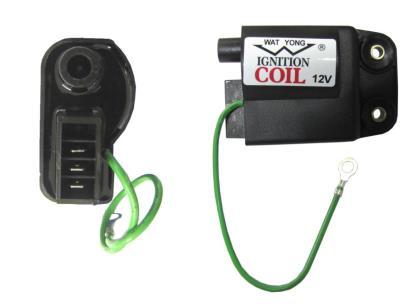 Picture of Ignition Coil 12v CDI Single for Piaggio & Gilera 3 Pin + 1