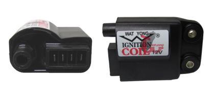 Picture of Ignition Coil 12v CDI Single for Piaggio & Gilera 4 Pin