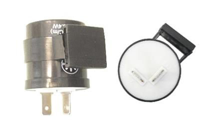 Picture of Flasher Can & Buzzer 6v & 12v 2 Pin use with all bulbs