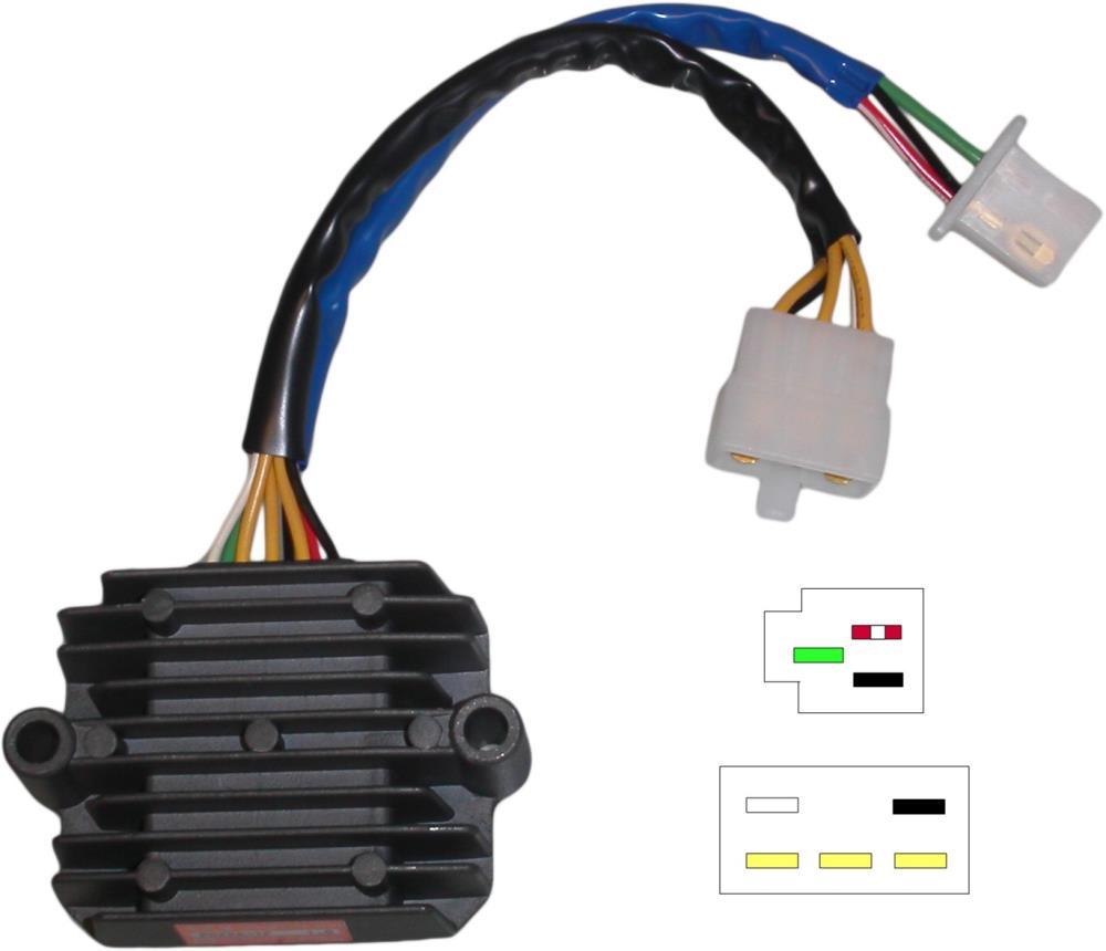 Regulator   Rectifier    Honda       CB750     CB900 DOHC 8 Wires SH236