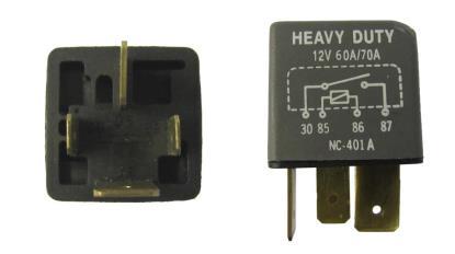 Picture of Starter Relay 4 Pin off set type Piaggio, Gilera, Vespa 58115R