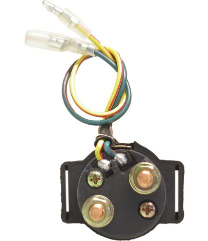 Picture of Starter Relay Early Japanese & Chinese 2 Wire with Long Body