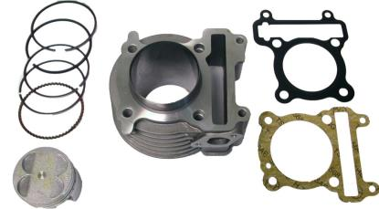 Picture of Barrel 4 Stroke 150cc Scooter 58.50mm Piston Kit & Gaskets