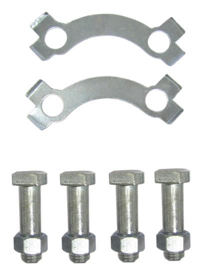 Picture of Rear Sprocket Bolt & Tab Set fits 0801/0802 Sprockets (10mm) (Set)