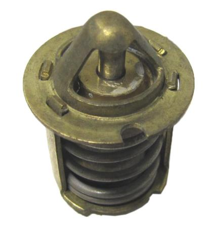 Picture of Thermostat 23mm O.D, Length 31mm 55c fitted to Piaggio 50cc
