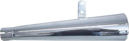 Picture of Exhaust Silencer Left Hand 35mm-45mm 17'' Long