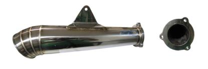 Picture of Stainless Steel GP Silencer Honda CBR125RR