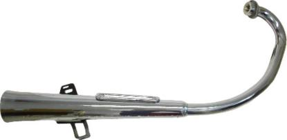 Picture of Exhaust Complete for 1982 Yamaha SR 125 SE (Front & Rear Drum)