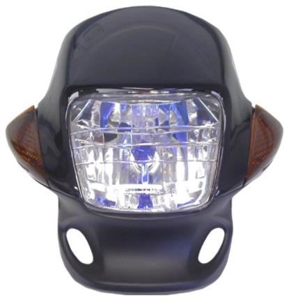 Picture of Headlight & Fairing Black including Indicators