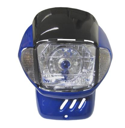 Picture of Headlight & Fairing Blue including Indicators