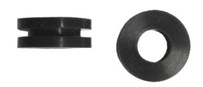 Picture of Grommet OD 18mm x ID 8mm x Width 7mm (Rubber) (Per 10)