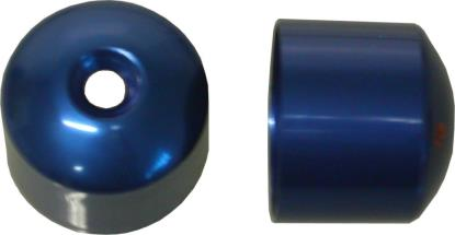 Picture of Bar End Cover Blue CBR600F (Pair)