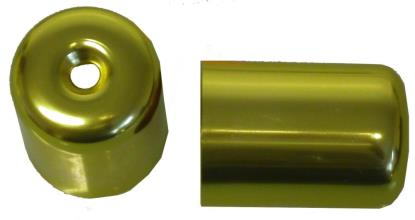 Picture of Bar End Cover Gold GSXR1100WP, WR (Pair)