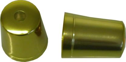 Picture of Bar End Cover Gold FZR600, FZR1000R, YZF600, 750, FZ750, FJ1200 (Pair)