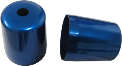 Picture of Bar End Cover Blue YZF1000R Thunderace (Pair)