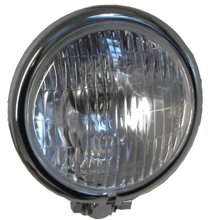 Picture of Headlight Complete Bottom Mount Mini Bates 4.5""