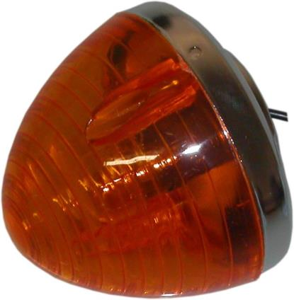 Picture of Complete Indicator Honda C50, C70, C90 Front Round(Amber)