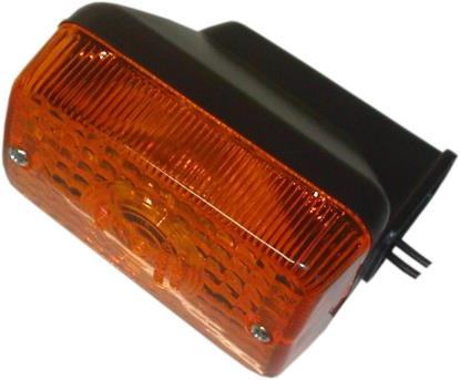 Picture of Complete Indicator Honda C90 Cub Black Rear, NH80 Rear(Amber)