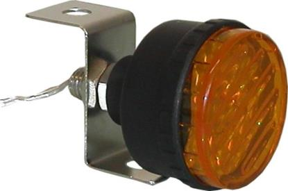 Picture of Marker Light Flashing Yellow with Single Bolt Fitting OD:45m