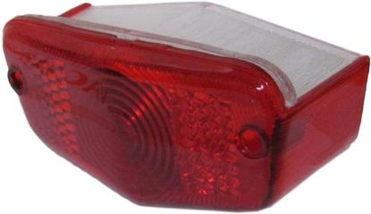 Picture of Rear Light Lens Lucas up to 1963