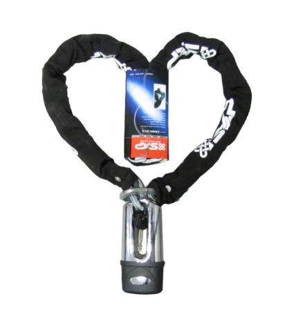 Picture of Lock Red Star Chain & Disc Lock 150cm
