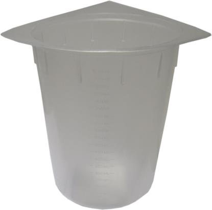 Picture of Oil Measure Beakers up to 1000ml (1 Litre)