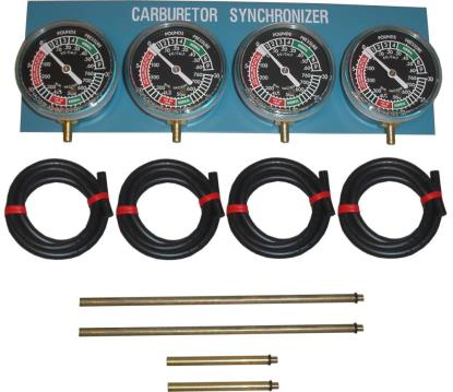 Picture of Vacuum Gauge Four Cylinder
